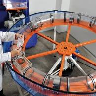 Endless Sewer zur Untersuchung der Zerfallskinetik von Vliesstoffen