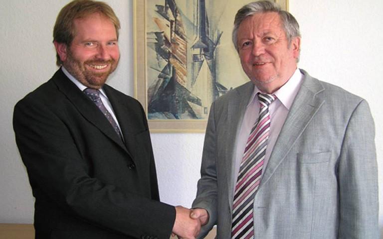 Neuer Institutsdirektor: Dr. Ulrich Palzer