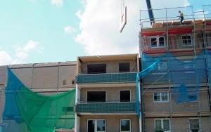 Bild Arbeitsschutz und Arbeitssicherheit auf Rückbau-Baustellen: Rückbau-Baustelle in Magdeburg im Gneisenauring