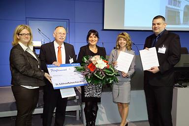 Bild Auszeichnung des 10. Gefahrstoffschutzpreises