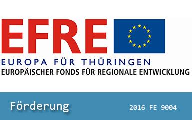 Bild Logos EFRE Europa für Thüringen
