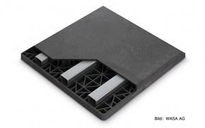 Bild Struktur-Unterlagsplatte: Funktionsmuster der Struktur-Unterlagsplatte