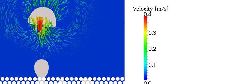 Bild Prüfstand Bubble-Point-Test: Simulation der Druckbeaufschlagung im Filterinneren