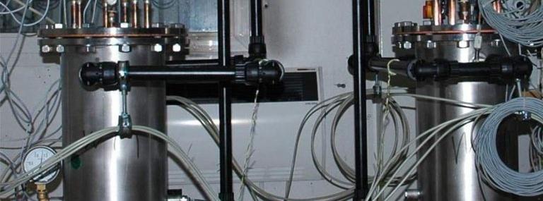 Bild Selbstgesteuerte Durchflussregelventilgruppe: Versuchsstand zum Abgleich drei unterschiedlicher Modell-Sondenlängen