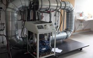 Bild Wirkungsgraderhoehung von Blockheizkraftwerken: Direktverdampfer-Wärmepumpe