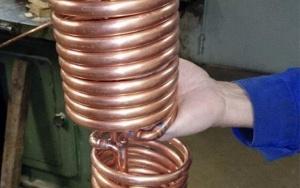 Bild Wirkungsgraderhoehung von Blockheizkraftwerken: Rohrführung im Abgaswärmeübertrager