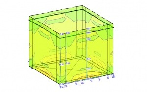Bild Fertigteilpumpensumpf in UHPC: Statisches Modell