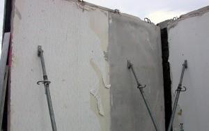 Bild Recycling Platte: Remontage aus Elementen eines Spendergebäudes Baureihe WBR 80 E