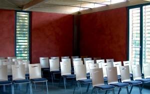 Bild Recycling Platte: Trauerhalle in Mellingen – Innenansicht