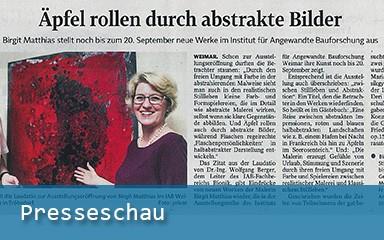 Bild Zeitungsartiel