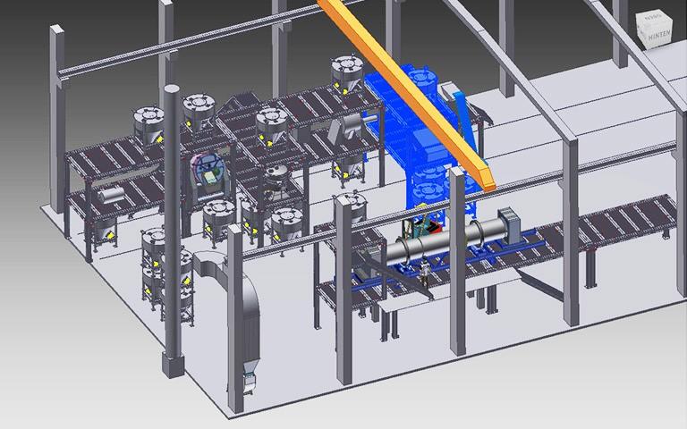 2-Deck-Linearsiebmaschine zur Vorab- und Produktsiebung