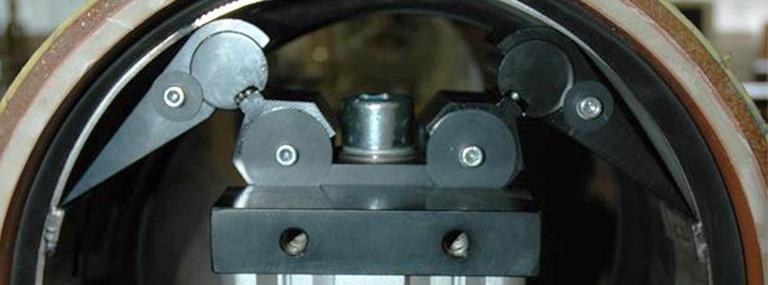 Bild Muffenfix: Setzgerät zum Verspannen des Spannbandes in der Innendichtmanschette