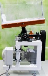 Bild AIRWEB Zellstoffstruktur mit Zerfallskinetik: EDANA-Prüfverfahren – Slosh-Box-Test