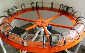 Bild AIRWEB Zellstoffstruktur mit Zerfallskinetik: neu entwickeltes Prüfverfahren mit dem Endless Sewer