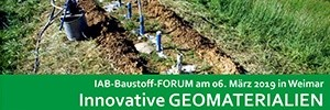 Bild Banner IAB-Baustoff-FORUM 2019