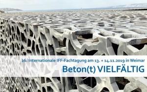 Bild Banner Ankündigung 26. Internationale IFF-Fachtaguing