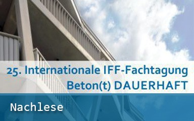 Bild Banner 25. Internationale IFF-Fachtagung