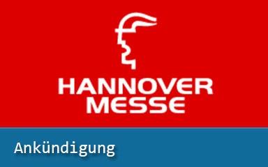 Bild Ankündigung: IAB präsentiert auf Hannover Messe 2019
