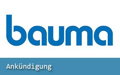 Bild Ankündigung: IAB Weimar auf Fachmesse bauma 2019 vertreten