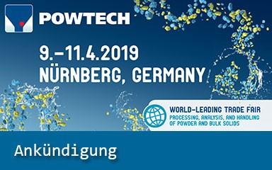 Bild Ankündigung: POWTECH 2019 mit IAB Weimar
