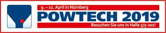 Bild Banner POWTECH 2019 mit dem IAB Weimar