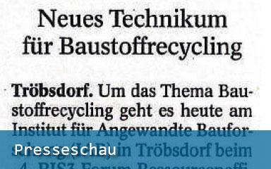 Presseschau: Premiere bei Forum am IAB (TA/TLZ Weimar, 20.03.2019)