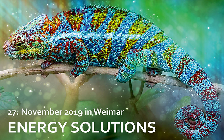 Bild Energy Solutions 2019 am IAB Weimar