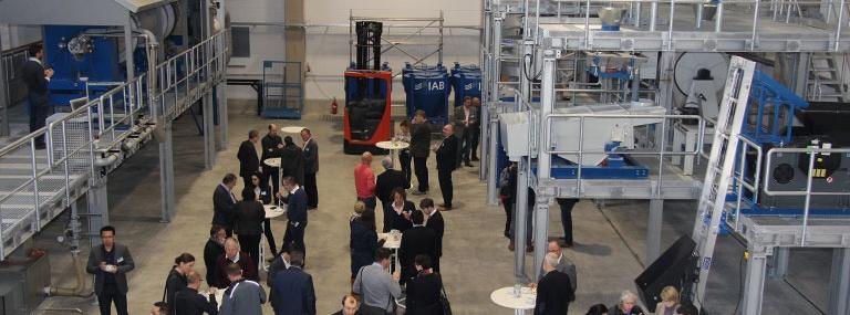 Bild Eröffnung Technikum für Baustoffrecycling am IAB Weimar