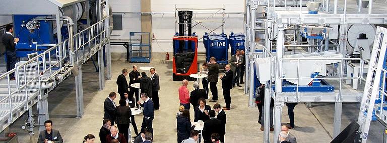 Bild IAB-Recycling-Technikum: Pilotanlage steht für Forschungsaktivitäten zur Verfügung