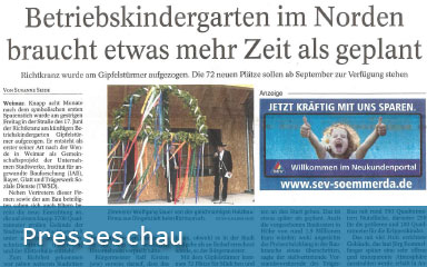 Bild Presseschau IAB Weimar