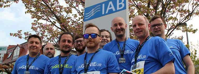 Bild IAB Weimar Staffel-Teams Bauhaus-Marathon