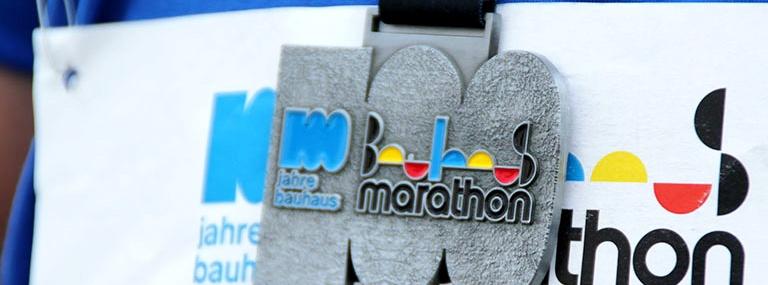 Bild Bauhaus-Marathon Medaille