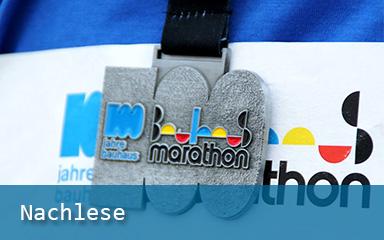 Bild Medaille Bauhaus-Marathon