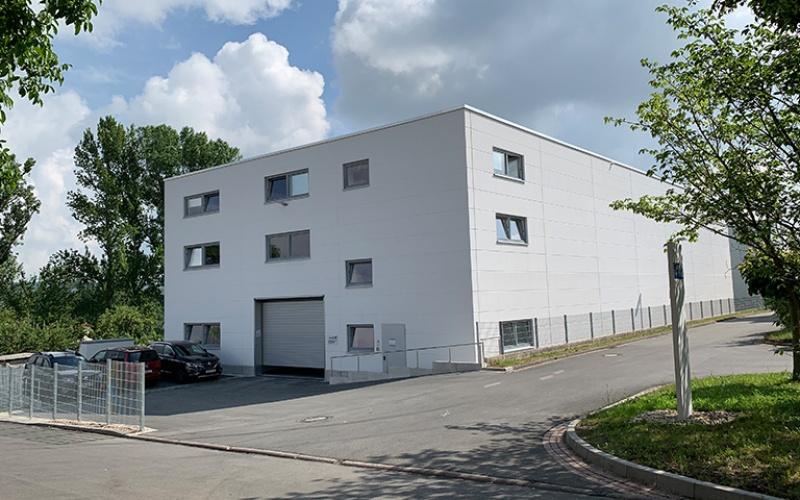 Recycling-Technikum des IAB Weimar (Juni 2019)