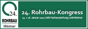 Bild Banner 24. Rohrbau-Kongress in Weimar
