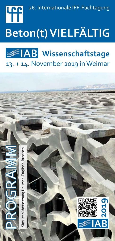 Bild Titelseite Programm 26. Internationale IFF-Fachtagung