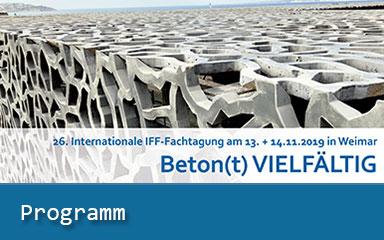 Bild Ankündigung Programm IFF-Fachtagung online