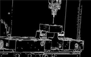 Bruchprävention: Kantendetektion im Antastprozess (Tests bei der WESOMA GmbH)