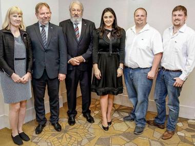 Bild MEACS Projektgruppe aus Brasilien und Deutschland