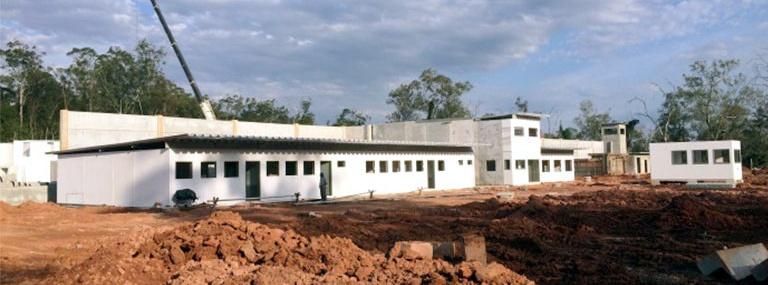 MEACS Brazil Gefängnis-Baustelle in Brasilien