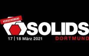 Banner SOLIDS Fachmesse 2021 in Dortmund