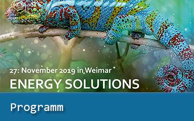Bild Ankündigung Programm Energy Solutions 2019 online
