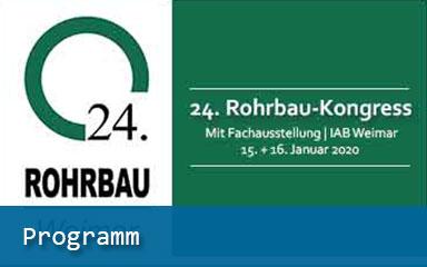 Bild Ankündigung 245. Rohrbau-Kongress Programm