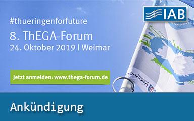 Bild Ankündigung IAB informiert auf ThEGA-Forum in Weimar
