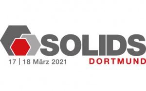 Bild Banner SOLIDS Fachmesse 2021 in Dortmund