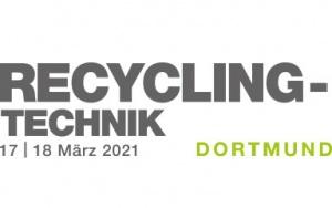 Bild Banner Fachmesse Recycling-Technik 2021 in Dortmund