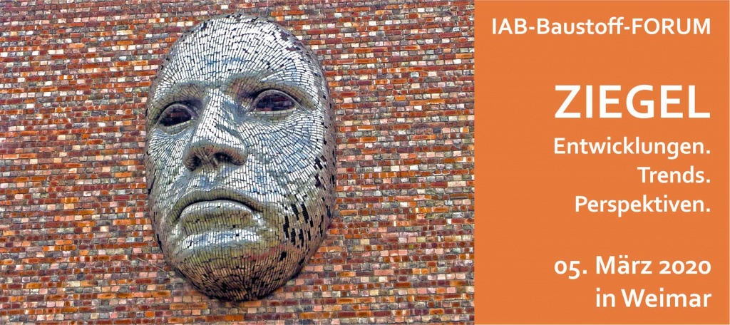 Bild Ankündigung IAB-Baustoff-FORUM 2020 in Weimar
