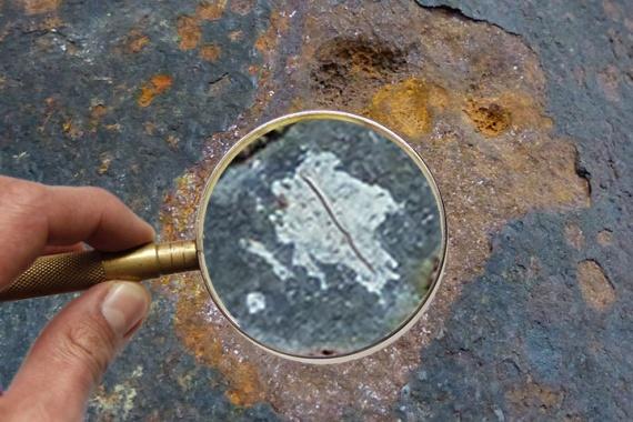 Bild Kleine Leckage im verrohrten Borloch