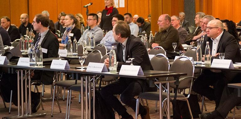 Bild Fachpublikum bei der 26. Internationalen IFF-Fachtagung in Weimar
