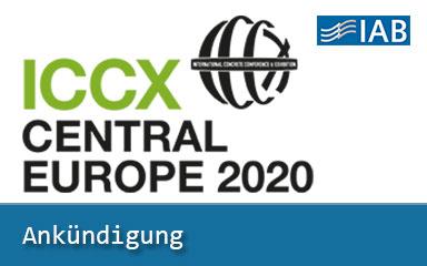 Bild Banner IAB auf ICCX 2020 in Warschau vertreten